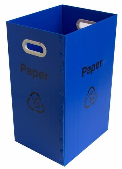 Paper Recycling Bin Only Blue Port Nicholson Packaging